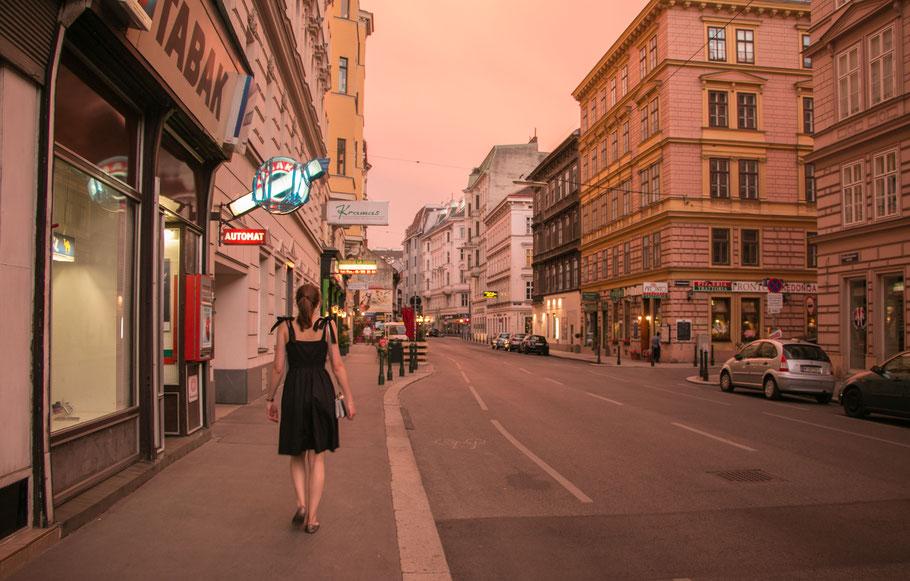 Wien-Bilder-Östrreich-Sonnenuntergang-Servitenviertel