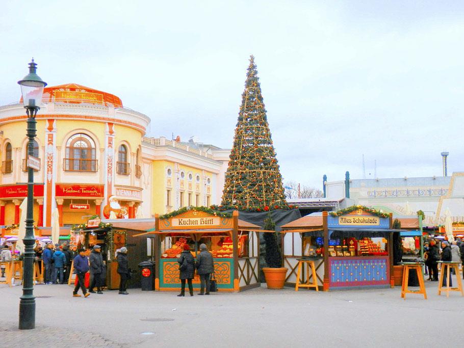 Wintermarkt am Wiener Prater