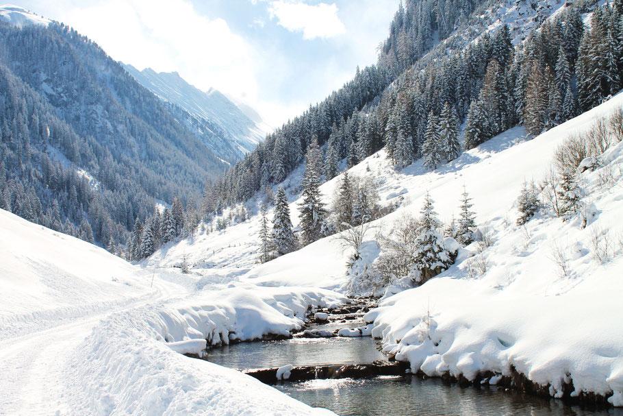 Winterwandern im Zillertal, schönsten Wanderungen im Zillertal