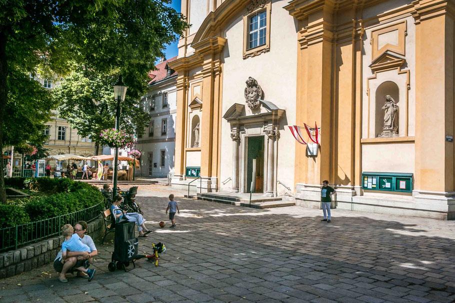 Servietenkriche-Servietengasse-Servietenviertel-Wien-Urlaub-in-Wien