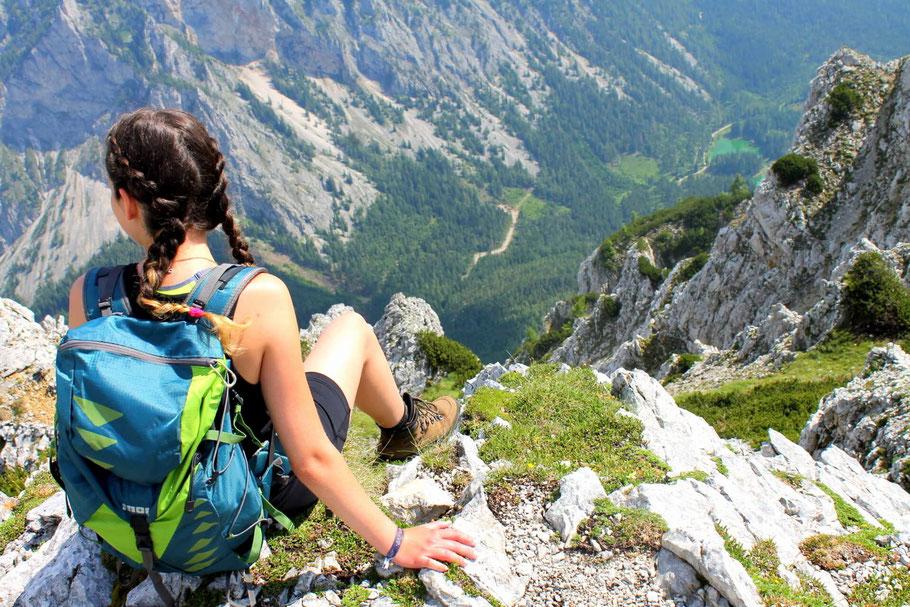 Wandern Steiermark, Hochschwab, Grüner See, Edelweißboden, Hochturm