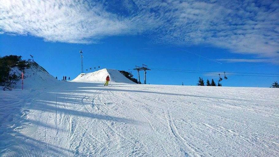 4 Berge Schischaukel Schladming, Schifahren auf der Planai, Skiing Paradise