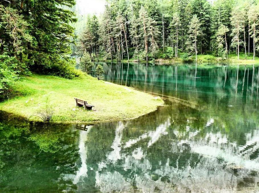 Naturjuwel Grüner See in Tragöss/ Steiermark. Schönster Ort Österreichs