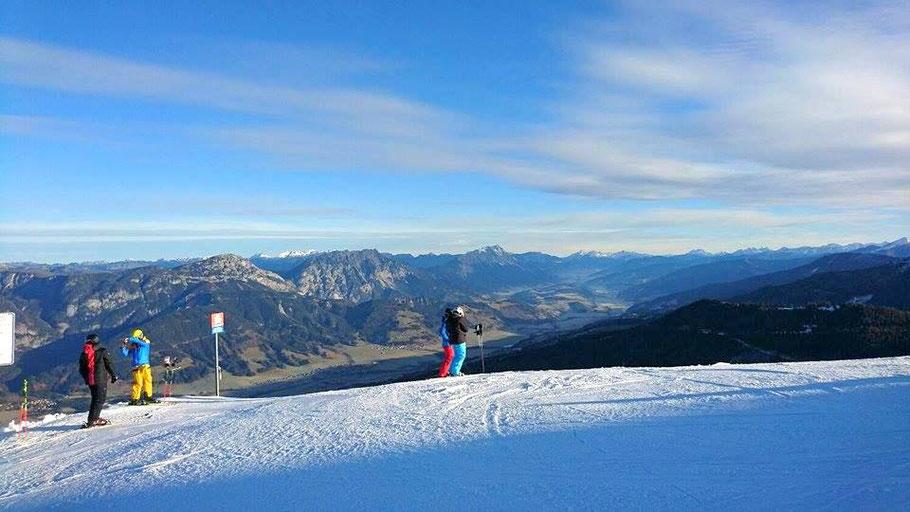 Schifahren Planai, Hauser Kaibling, Wintersport, Österreich, Schigebiet Steiermark