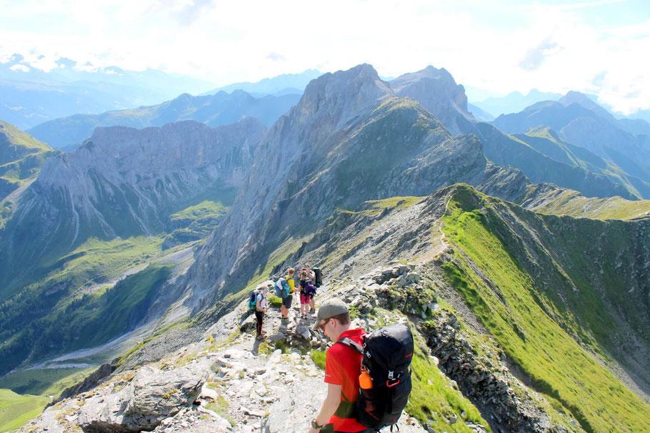Weitwandern Karnische Alpen, Karnischer Höhenweg, Pfannspitze