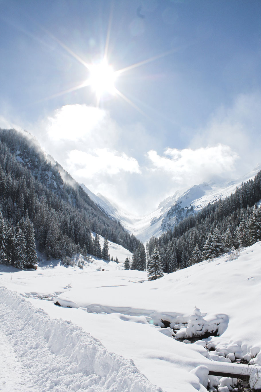 Winterwandern in Gerlos, ohne Schneeschuhe