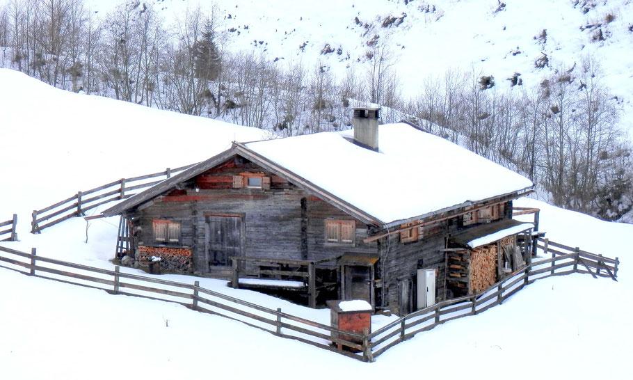 Almhütte im Wimmertal Gerlos, Wandern im Zillertal