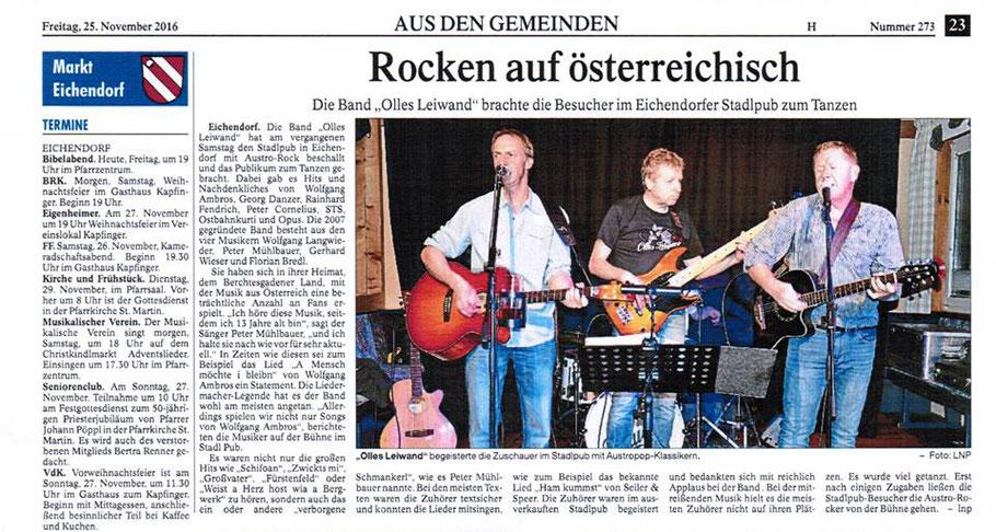 Landauer Zeitung 25.11.16