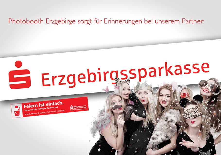 erzgebirssparkasse, erzgebirgssparkasse logo, sparkasse, sparkasse logo, erzgebirge, fotobox erzgebirge,