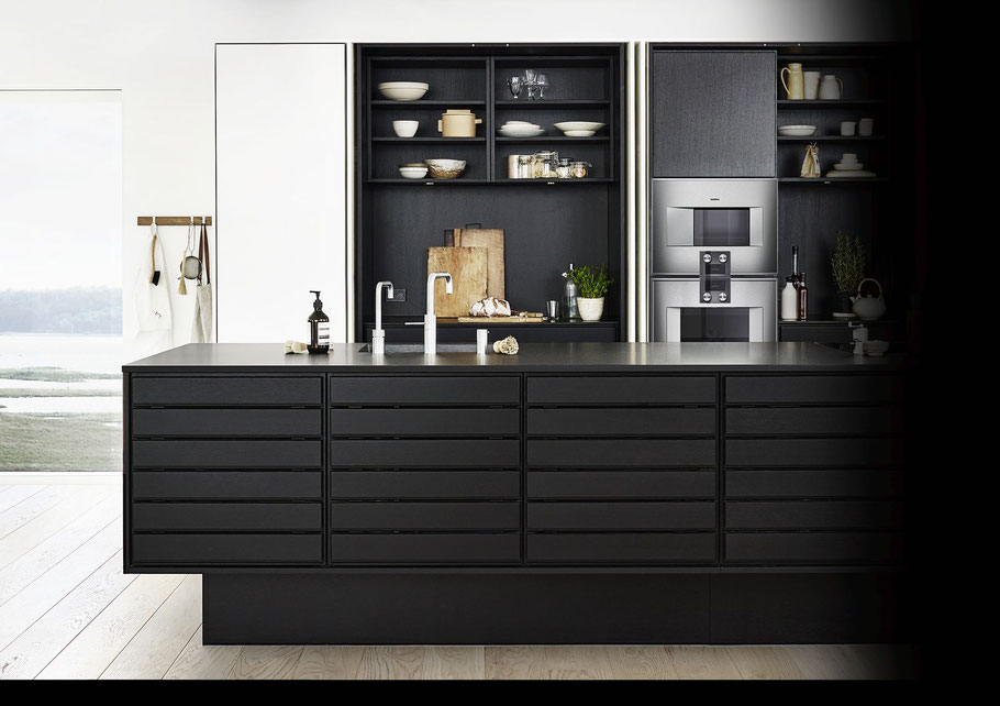 Die Wahl von Küchengeräten in höchster Qualität ist der Schlüssel, damit die Möglichkeiten des Raums voll zur Entfaltung kommen können.