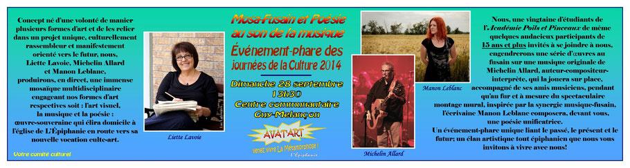 Événement-phare des Journées de la Culture à L'Épiphanie