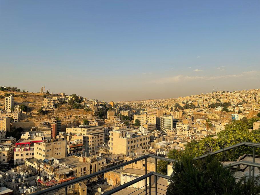 Amman ist nach Bergen und Circles eingeteilt