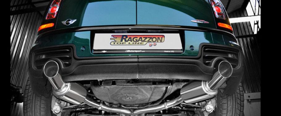 RAGAZZON マフラー ラガゾン ラガツォン MINI ミニ R55 クラブマン