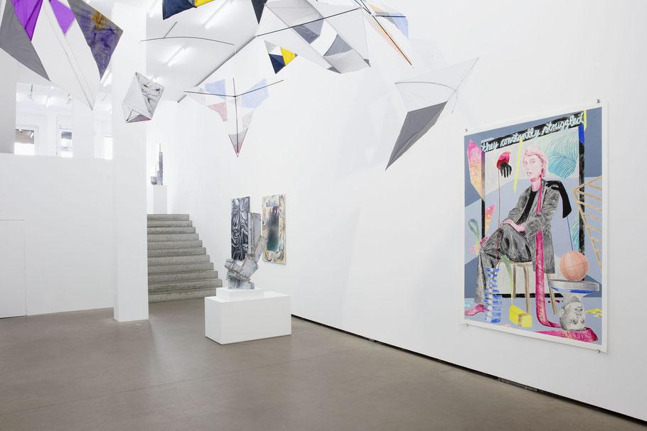 Exhibition view, 2018 courtesy Galerie EIGEN + ART Berlin Photo: Otto Felber, Berlin