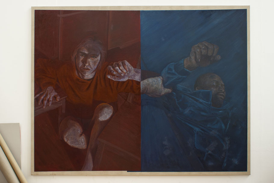 Öl auf Leinwand, 200 x 155 cm, 2015