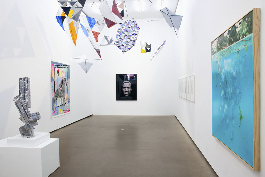 Exhibition view, 2018 courtesy Galerie EIGEN + ART Berlin Photo: Otto Felber, Berlin