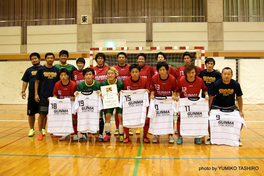 関東大会準優勝の群馬県選抜、関東代表として2016年9月30日~10月2日の日程で開催される全国大会(会場:大阪市中央体育館)に出場する。