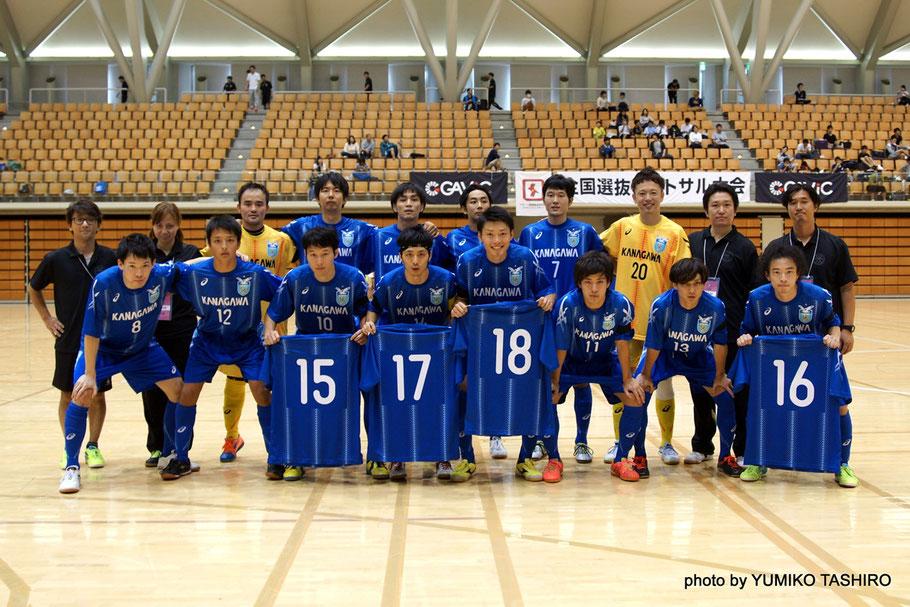 コロナFC権田を筆頭にBSやロンドリーナなどの選手で構成されていた神奈川県選抜