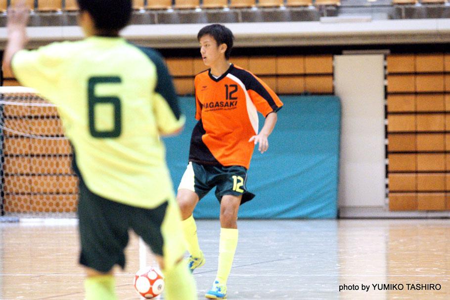 1998年生まれの16歳、大会最年少ながらもチームの核となる働きを見せていた中嶋選手。