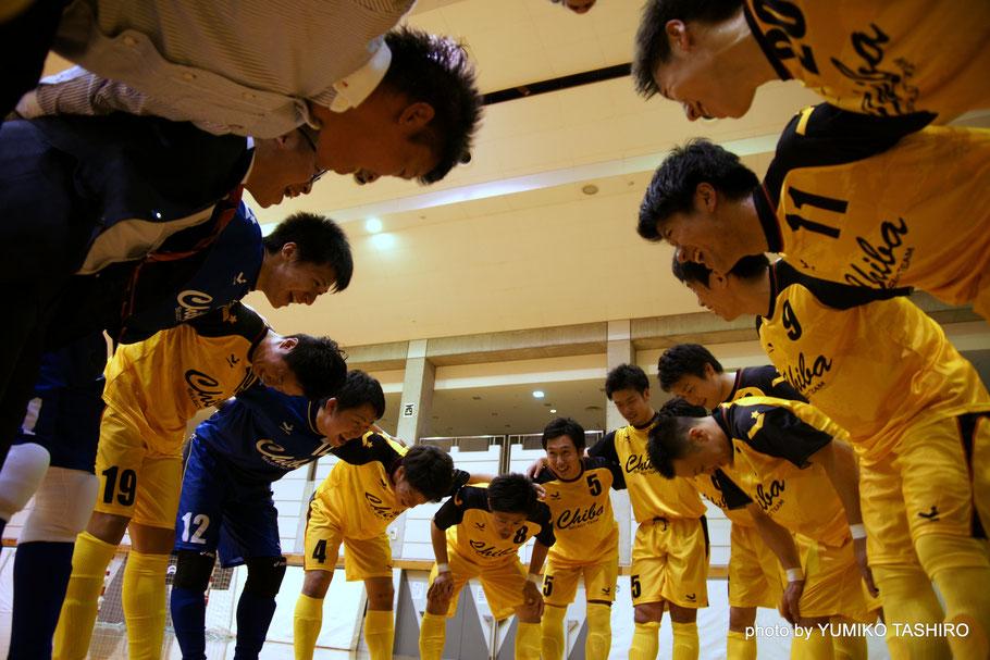 U23選抜の若手選手を中心に柏トーアやオーパのベテラン選手が加わった今年の千葉県選抜。