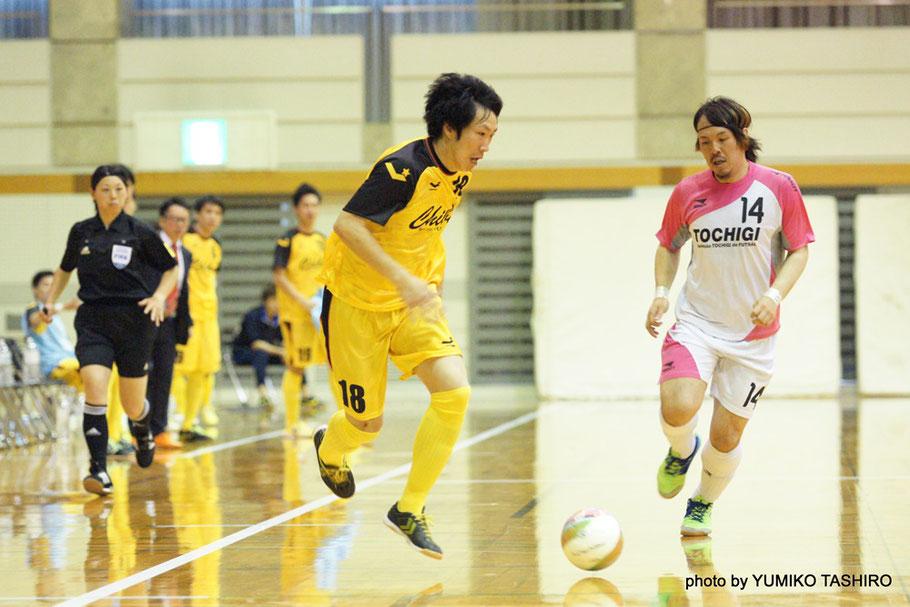 7番・馬場和也(2015年関東1部得点ランキング2位)、11番・山下純平(全日本大学大会2年連続得点王)、18番・林賢治(2015年関東2部得点王)  関東大会で圧倒的な得点力を見せた千葉県選抜。