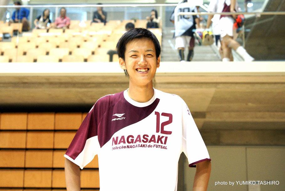 長崎県選抜12番・中嶋脩太郎選手 1998年12月10日生まれ 187cm/72㎏