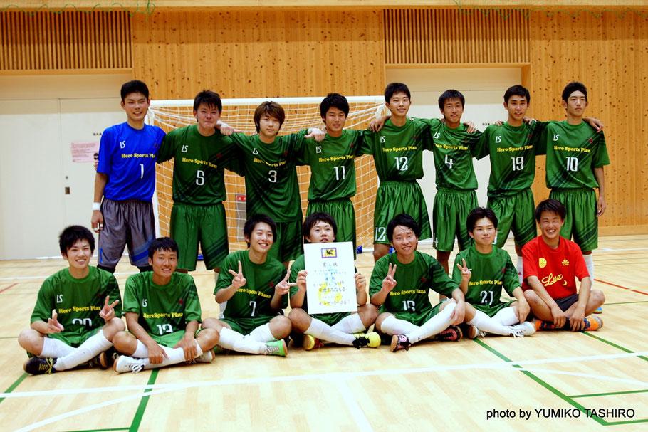 東海地域代表として、8月4日から仙台で開催される全日本ユースU18フットサル大会に挑む「ヒーロFC」 北海道釧路江南高等学校・中央学院高等学校・聖和学園サッカー部FCと対戦する。