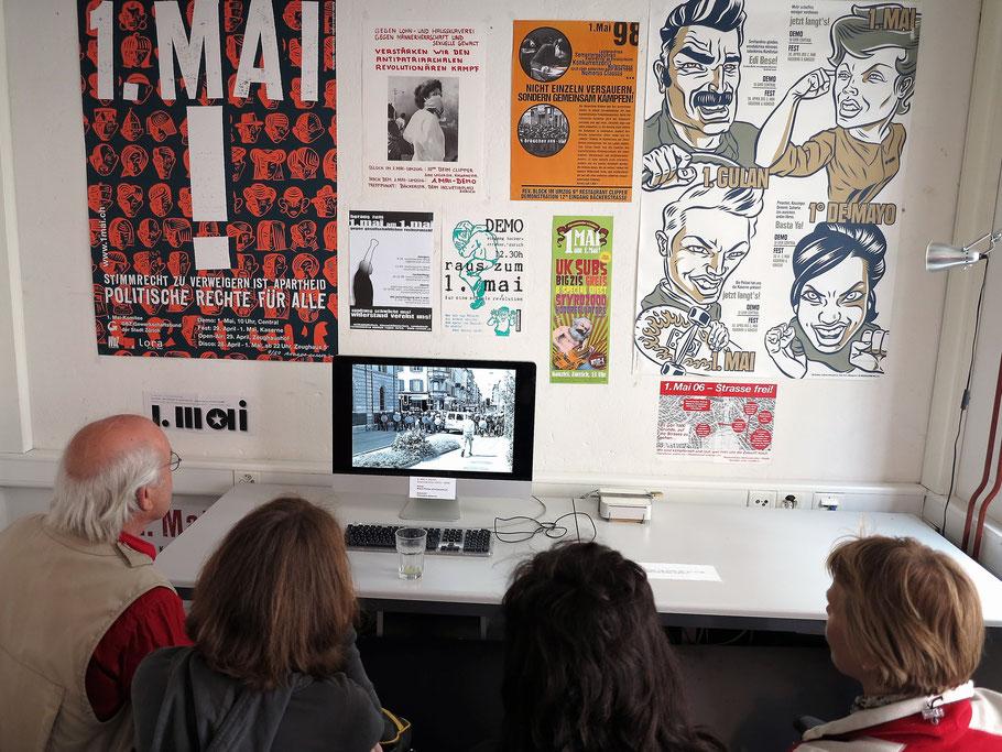 1. Mai 2012 im Infoladen KASAMA