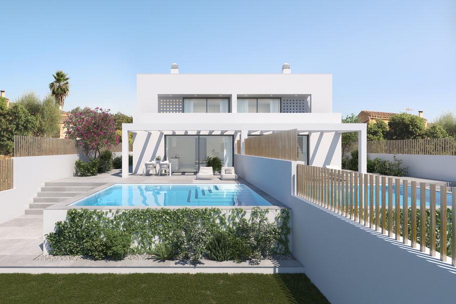 Ein Pool darf auf Mallorca nicht fehlen