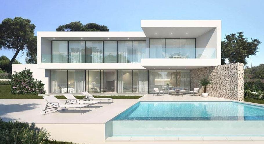 Fertighaus Mallorca oder schlüsselfertig Bauen auf Mallorca.