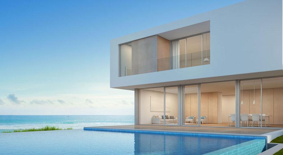 Luxusimmobilie am Meer