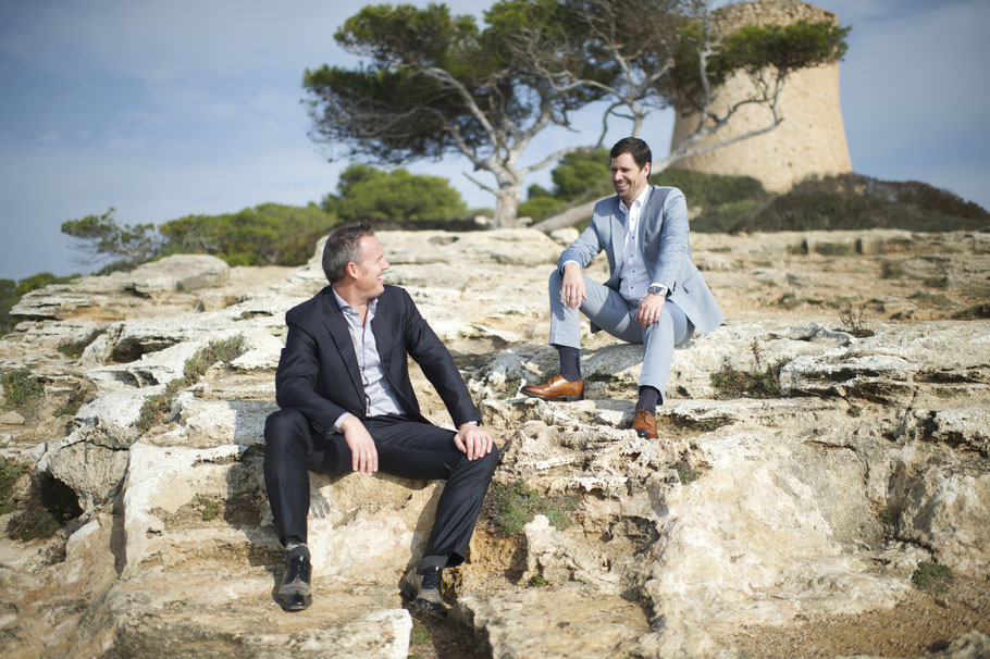 Christoph Albeck und Hanno Strack sind Cala Pi Homes auf Mallorca