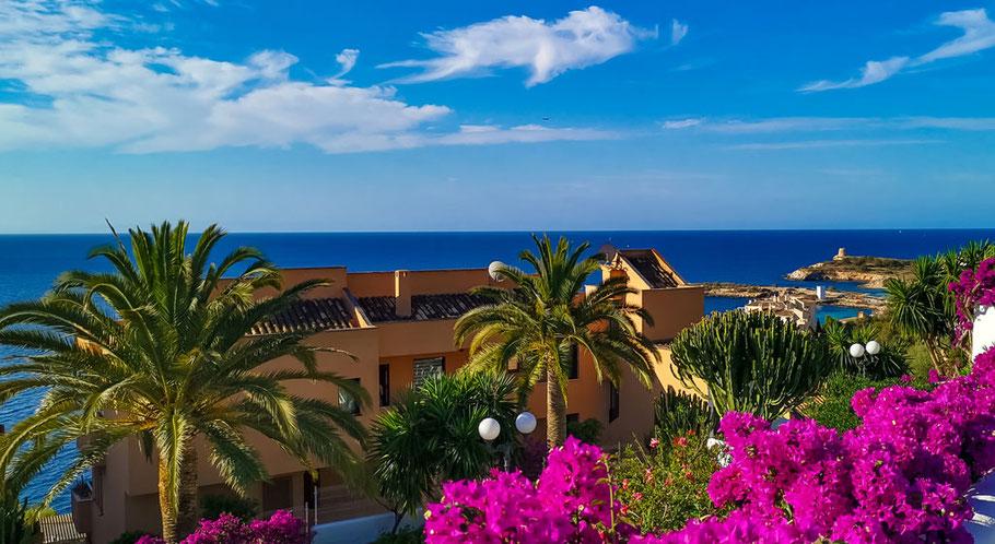 Ferienimmobilie auf Mallorca mit Meerblick