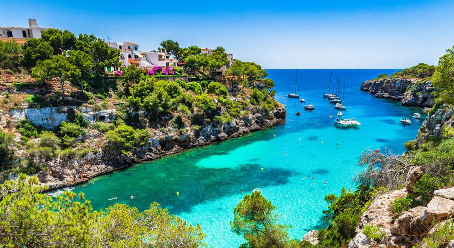 Ferienimmobilie am Meer in Cala Pi auf Mallorca
