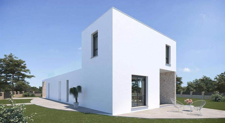 Einen Neubau auf Mallorca kaufen - Neubauprojekt von Cala Pi Homes