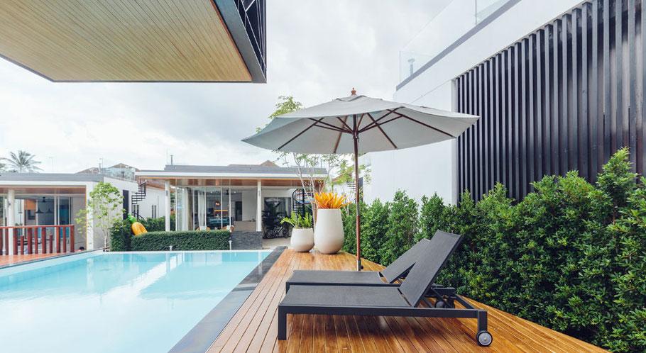 Immobilien mit Luxusausstattung