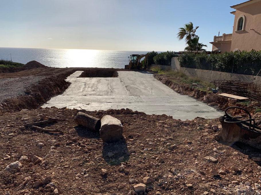 Grundstücke mit Meerblick und mit beantragter Baugenehmigung von Cala Pi Homes