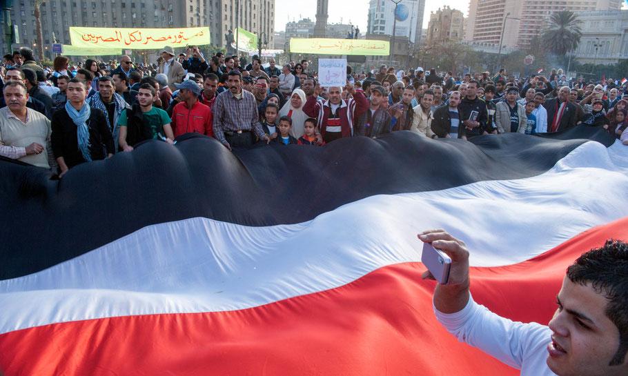Tahrir square © OBS