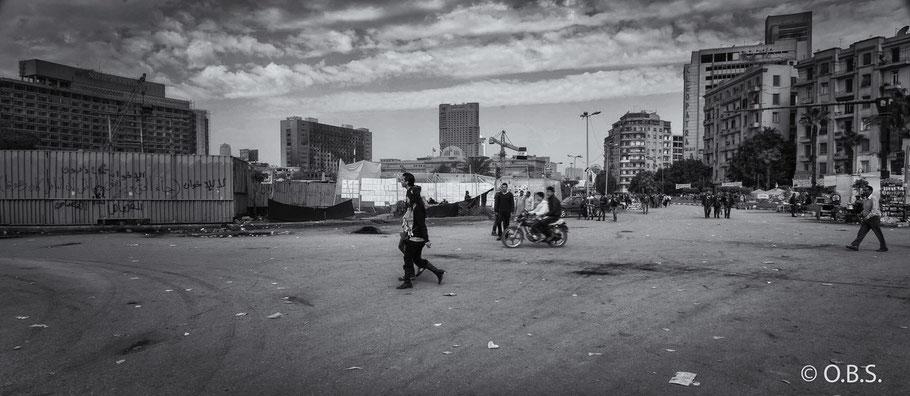 tahrir square, Cairo, Egypt © O.B.S.