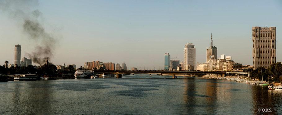6 october bridge, Cairo © O.B.S.