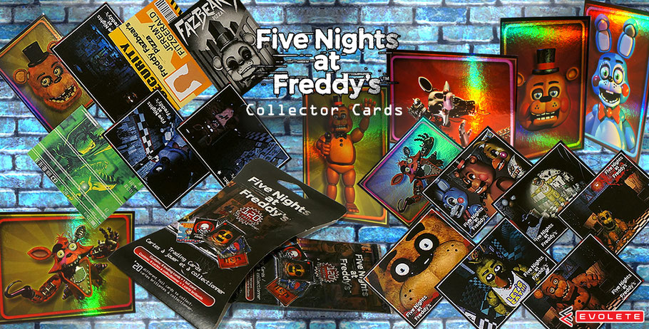 Five Nights at Freddy's Collector Cards