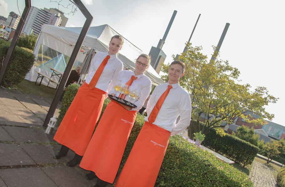 Servicepersonal fuer Ihre Veranstaltung in Hannover, Niedersachsen und Deutschland für Events