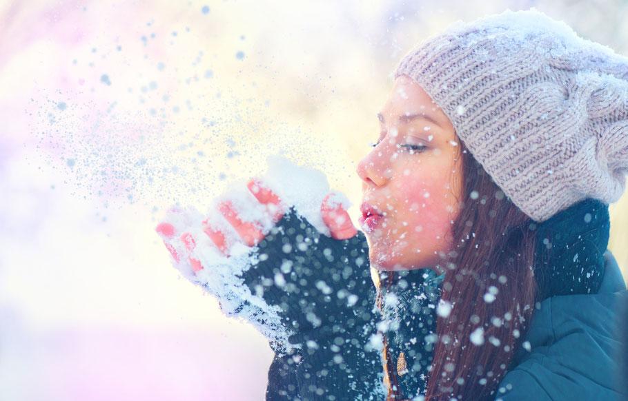 Künstlicher Schnee für Ihren Wintermarkt Anfang des Jahres