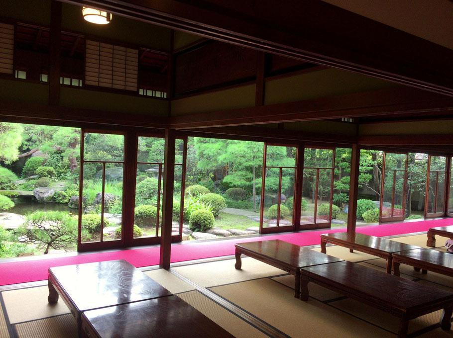 From inside Yamamoto-tei.