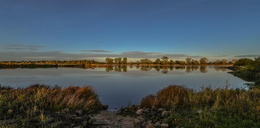 An der Elbe bei Damnatz