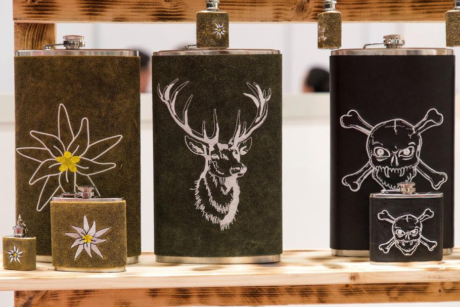 Edelweiß, Hirsch, Totenkopf, Symbol, Tracht