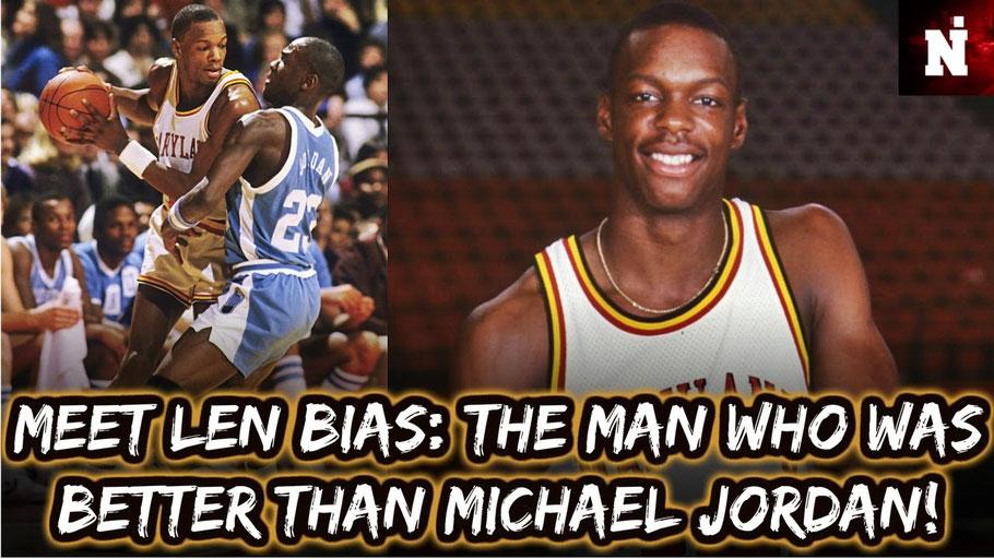 Подпись под фотографией не моя. Многие и сегодня в США считают, что Баяс мог бы стать более великим игроком, чем MJ