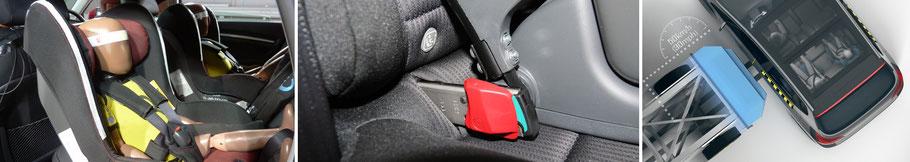 Pruebas para evaluación de la seguridad infantil. Euro NCAP