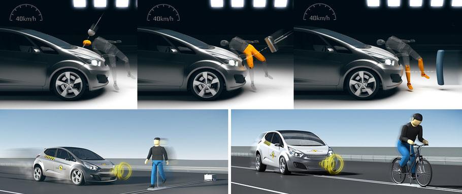 Evaluación de la seguridad de ocupantes vulnerables de la carretera. Euro NCAP