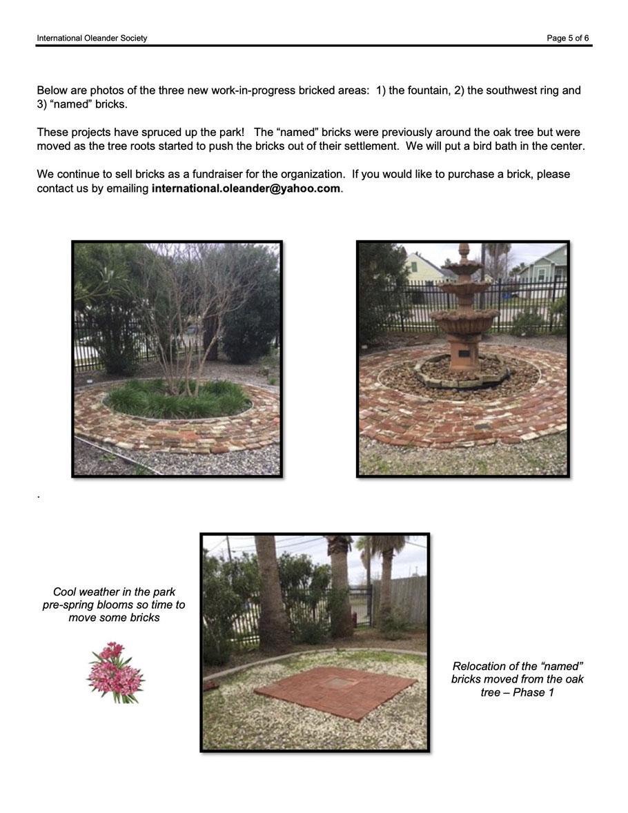 International Oleander Society, Nerium News